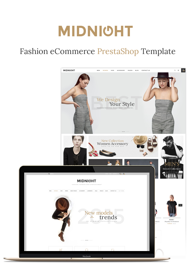 JMS MidNight - Responsive Prestashop Theme - 1
