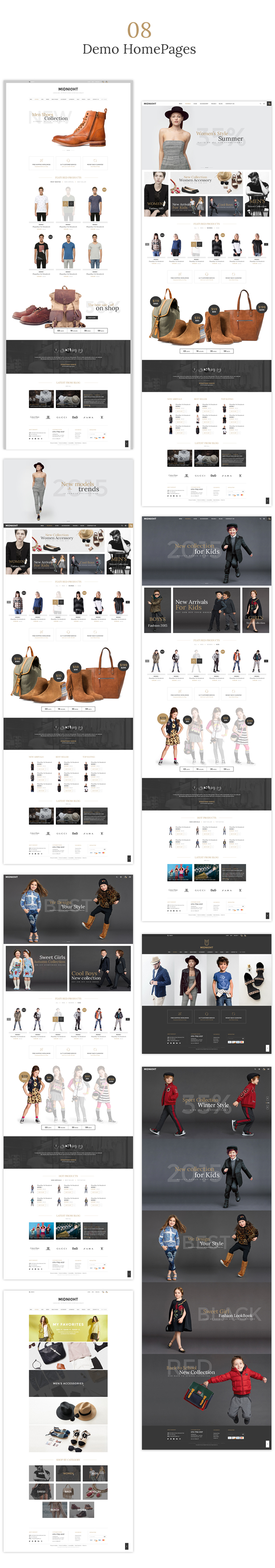JMS MidNight - Responsive Prestashop Theme - 2