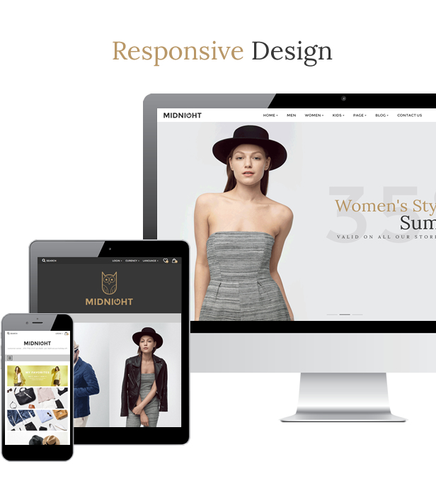 JMS MidNight - Responsive Prestashop Theme - 4