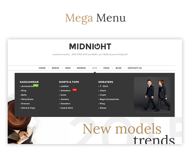 JMS MidNight - Responsive Prestashop Theme - 5