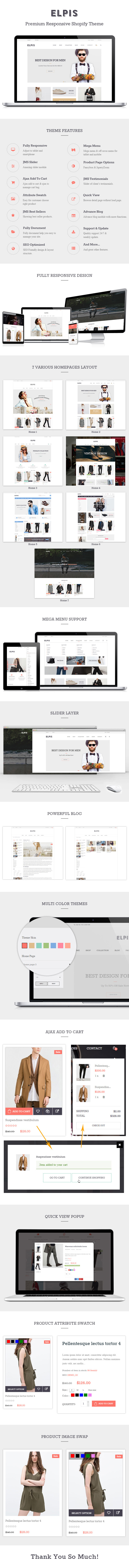 JMS Elpis theme for Shopify