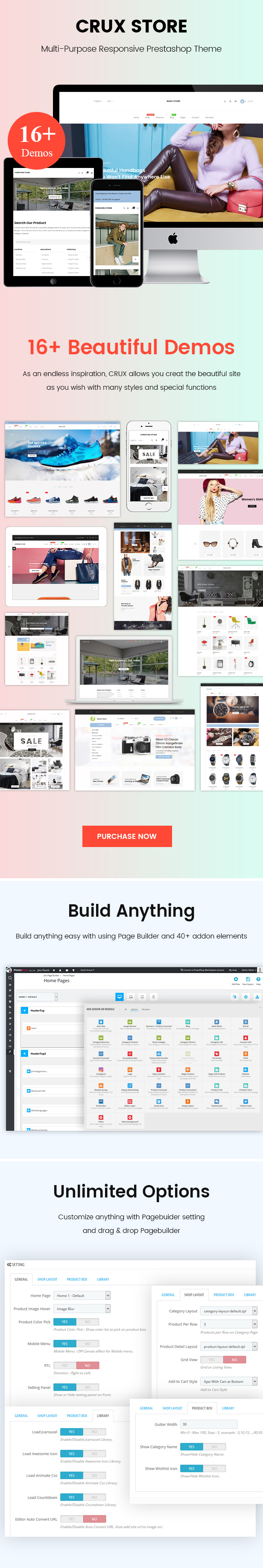 Crux Store – Multi-purpose Prestashop Theme (PrestaShop)