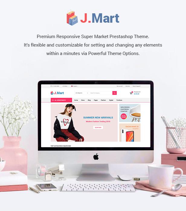 JMart Prestashop Theme