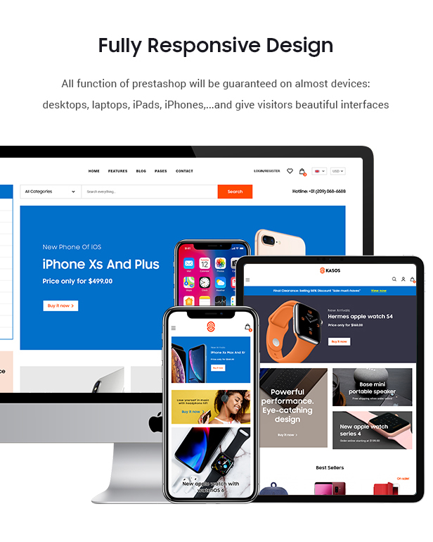 Premium Prestashop Digital Theme
