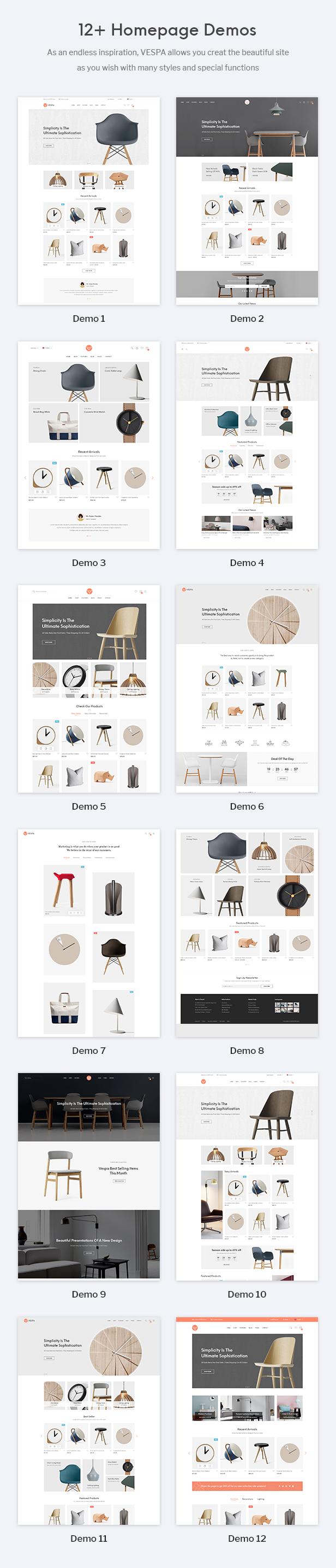 Vespa Prestashop Theme