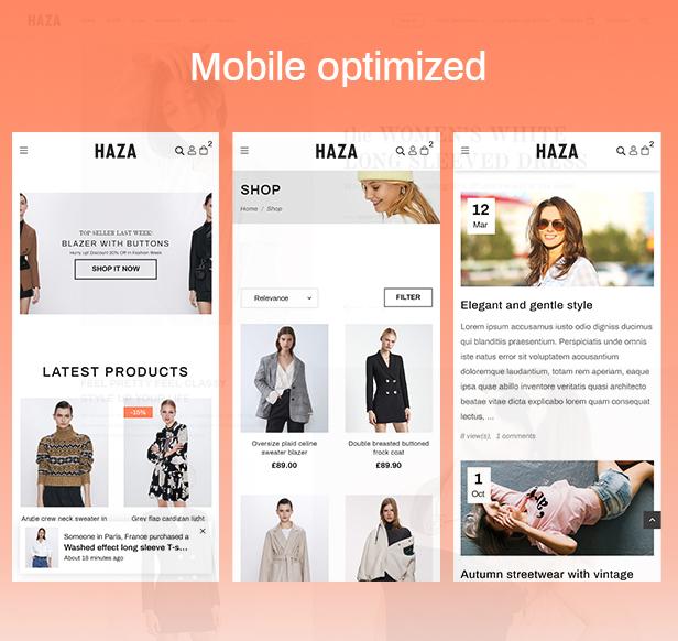 Haza | Multipurpose Fashion Prestashop Theme