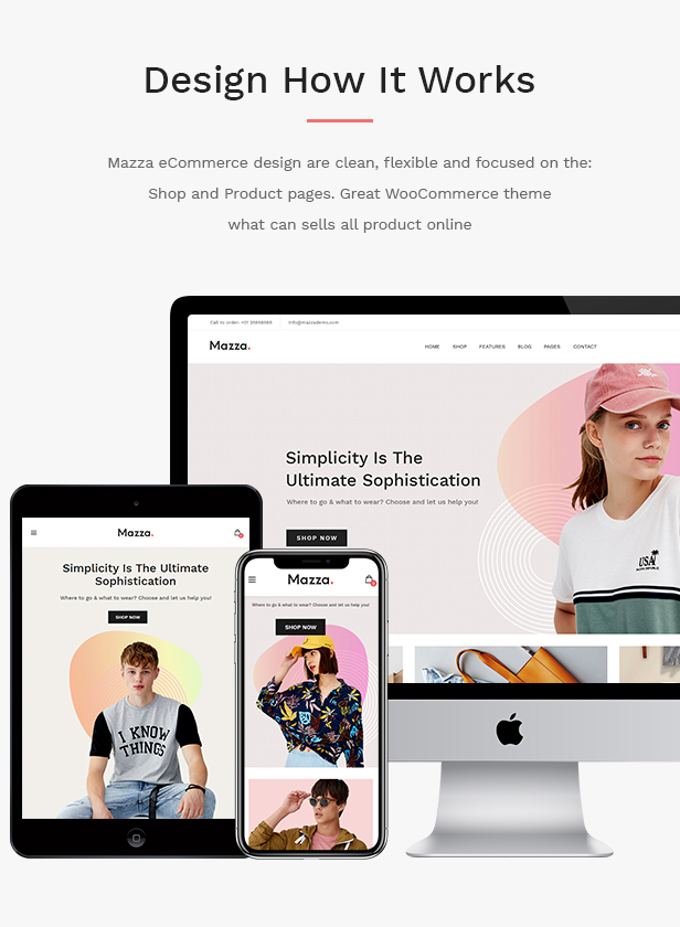 JMS Mazza WordPress Theme