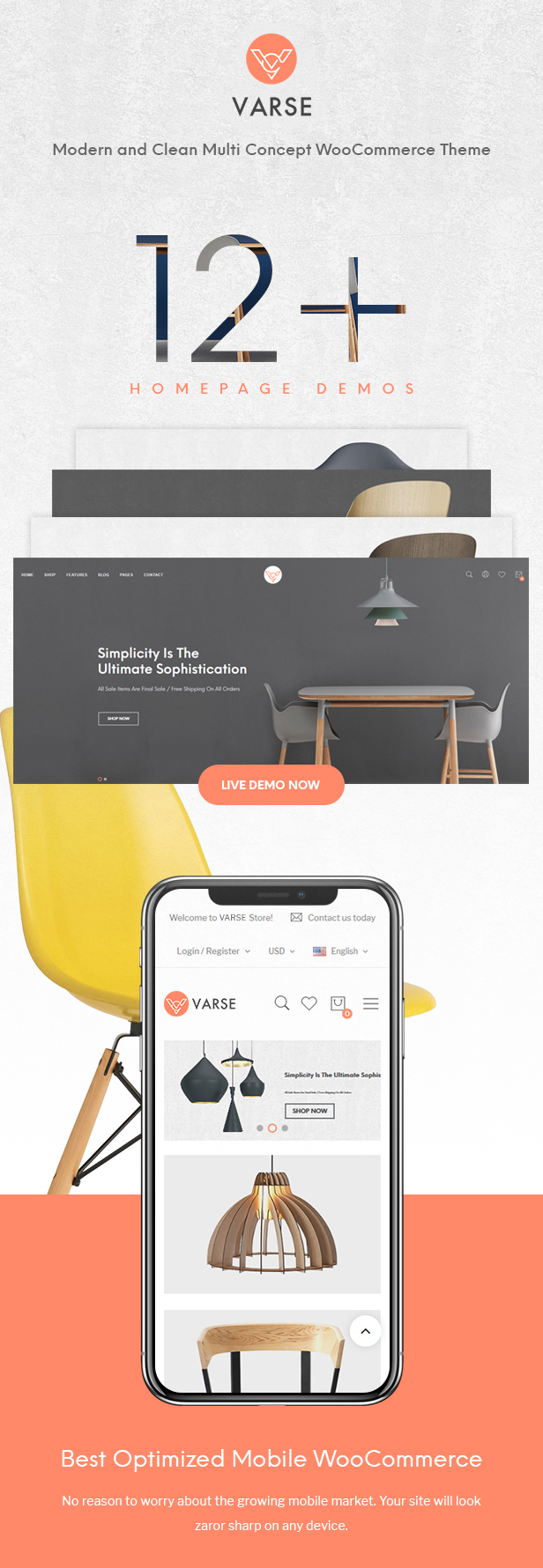 Varse | eCommerce WordPress Theme